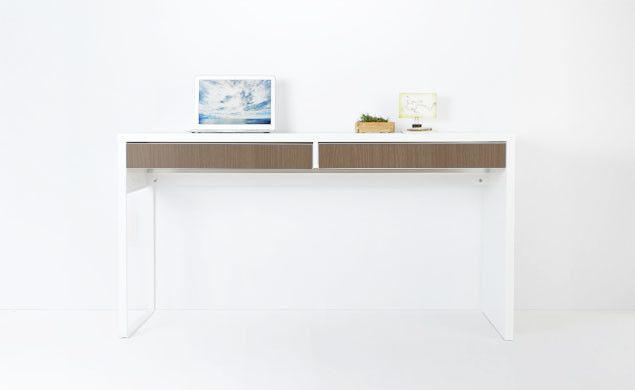 IKEA MICKE Is Collection Of Desks, Cabinets And Wall Shelves That Combine  To Fit Any Home Office Space. Use PANYL.