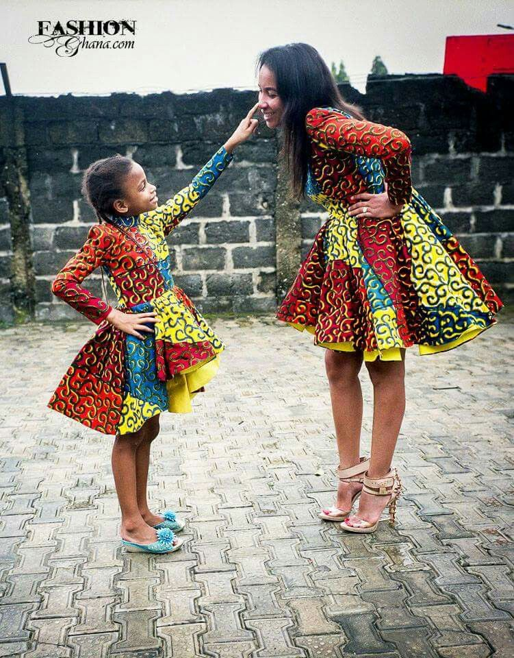 Mom & daughter fashion