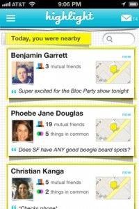 Highlight is an app with a sixth sense to turn your Facebook friends into IRL (in real life) friends. It earned a lot of buzz at SXSW, but what's next?