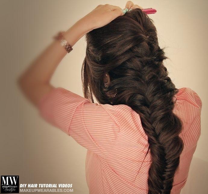 Long hair braids hairstyles DIY tutorials Disney Frozen Hairstyle ...