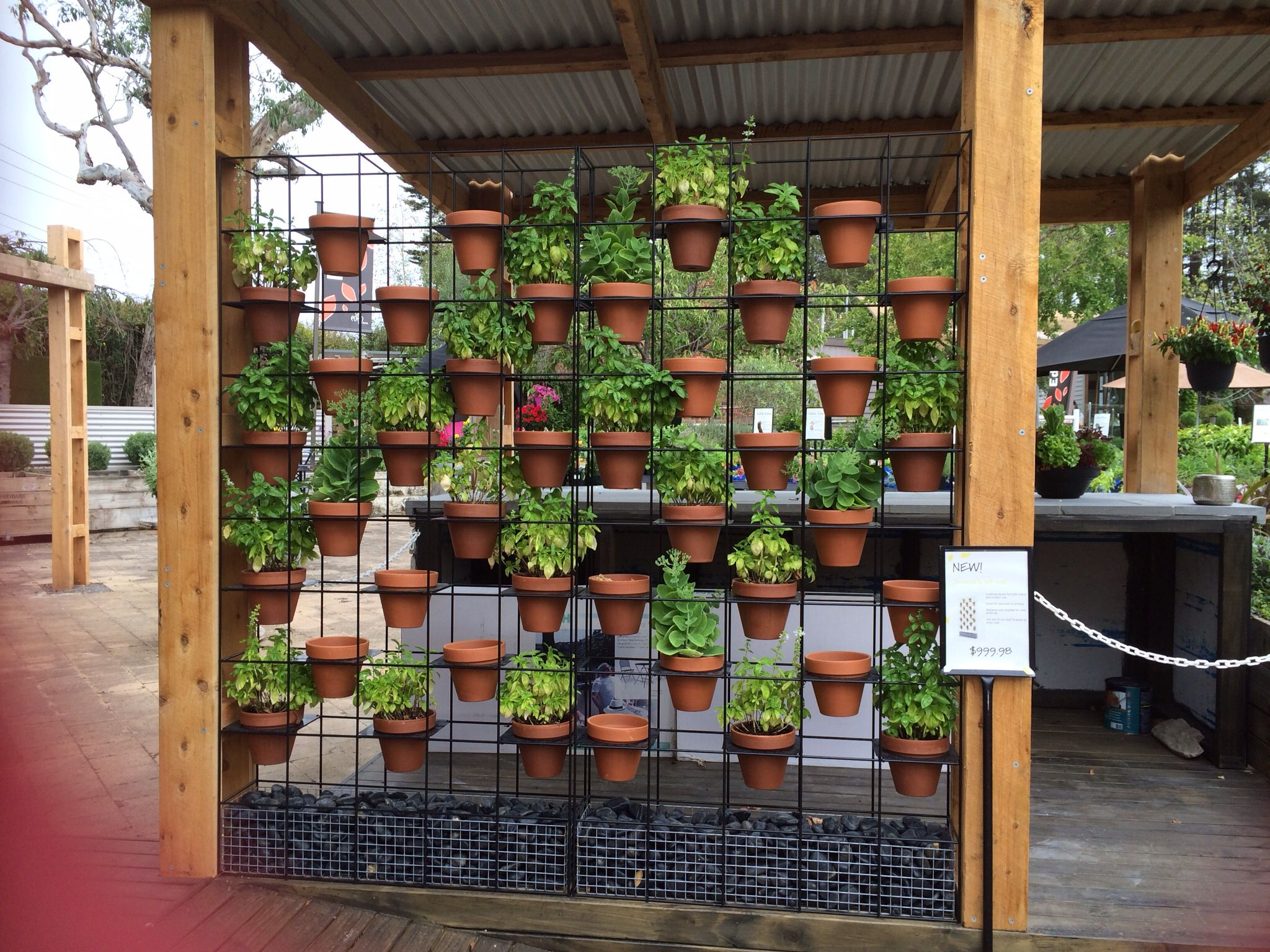 Wall Pots Screen Plants Vertical Garden Design Vertical Garden Wall