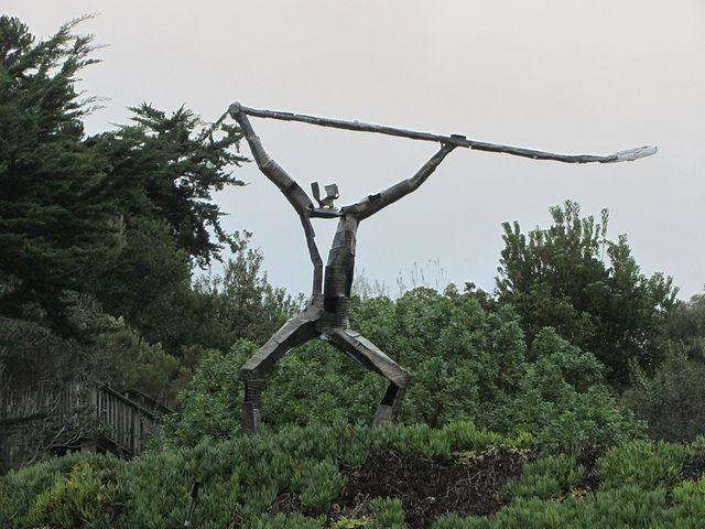 Statue in Malibu