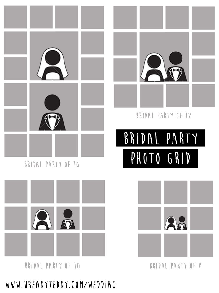 Funny Photo Grid : funny, photo, Create, Funny, Photo, Bridal, Party., Layout, Options, Picture, Collage., Party, Photos,, Party,