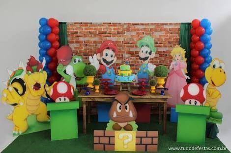 Marios Bros Deco Festa De Super Mario Aniversario Super Mario