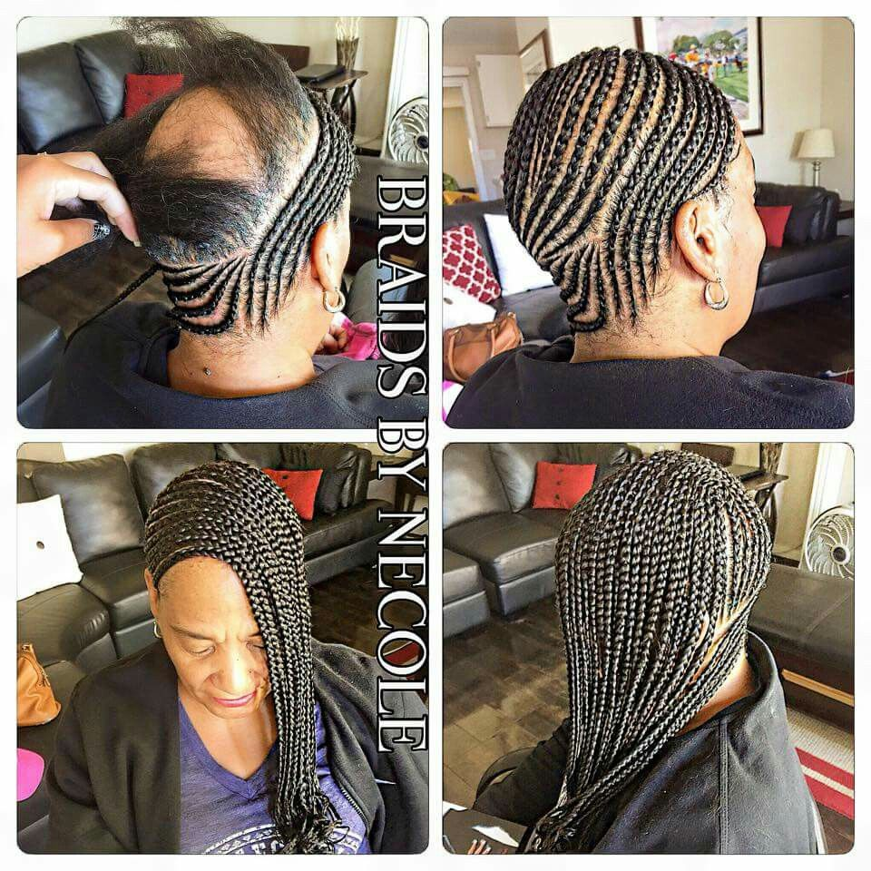 Nicely Covered Up Alopecia Hairstyles Braids For Thin Hair Braids For Black Hair