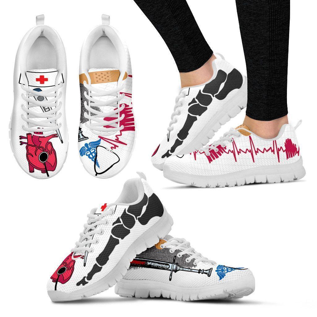 White Nursing Shoes Nike