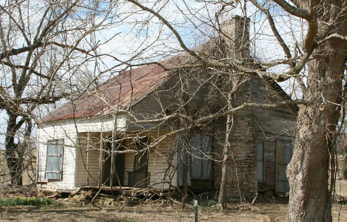 Rice Upshaw House in Randolph County, Arkansas