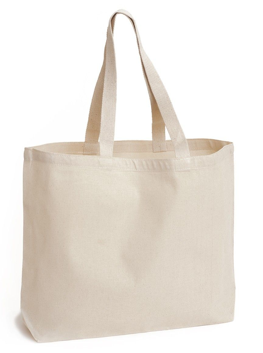 Unprinted Canvas Bag (Landscape) | [ NICE ] | Pinterest | Mockup