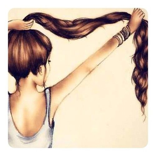 35 Trends For Easy Teenage Girl Easy Long Hair Cute Girl Drawings The Japingape