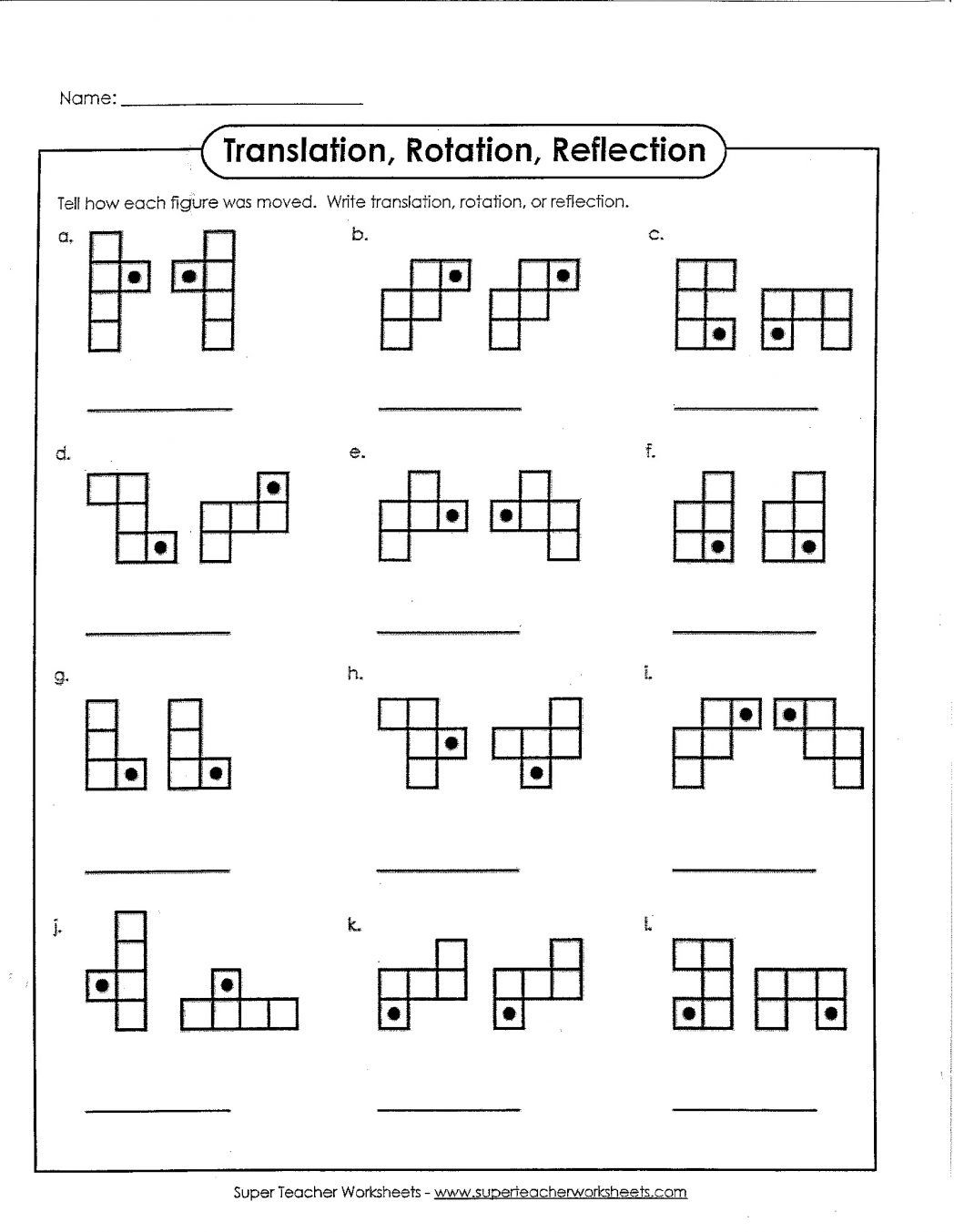 Pin By Flora Lin On Cube Reflection Math Math Worksheets Geometry Worksheets