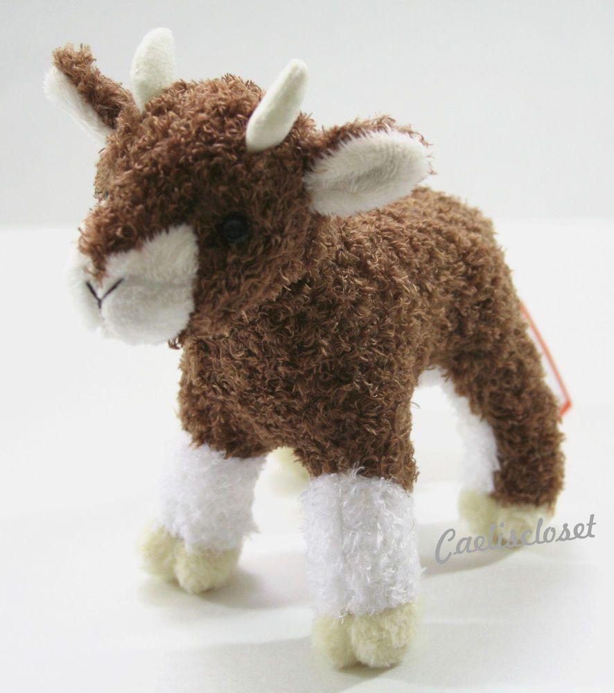 Douglas Plush Buffy Baby Goat Stuffed Standing Farm Animal Cuddle Toy New Baby Goats Goat Stuffed Animal Animal Plush Toys [ 1000 x 886 Pixel ]