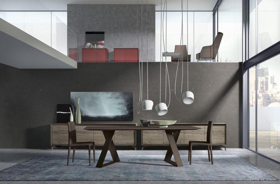Tisch Modern Design zaffiro presotto design pierangelo sciuto stilvoll gritty modern