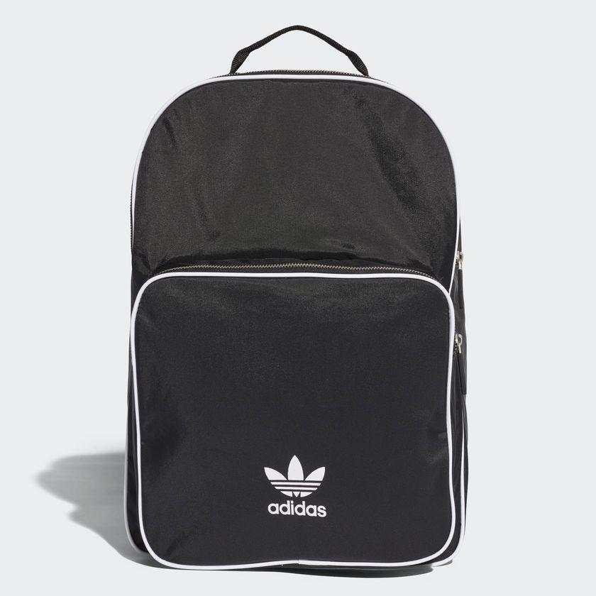 4670be924ebd adidas Originals Classic Adi-color Medium Black Backpack Bag School NWT  CW0637  adidas  Backpacks