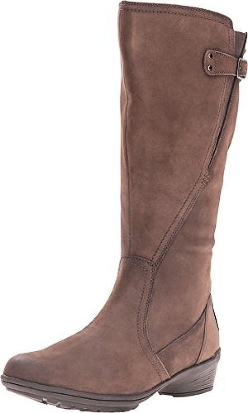 Cdh05St-031 Rockport Womens Cobb Hill Rayna Wide Calf  Boot  (M)