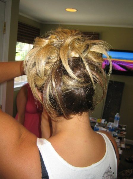 Funky Fun Updo For Bridesmaid By Cindy Updo S By Our