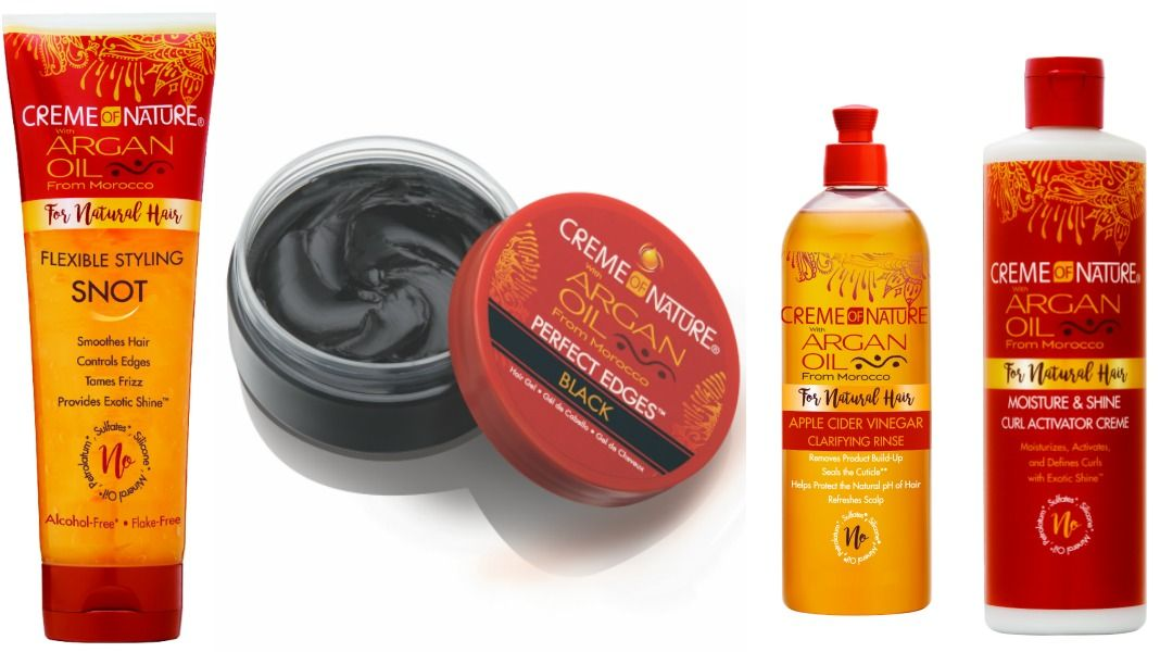 These New Creme Of Nature Products Are Exactly What Your Hair S Been Asking For Creme Of Nature Products Creme Natural Hair Styles