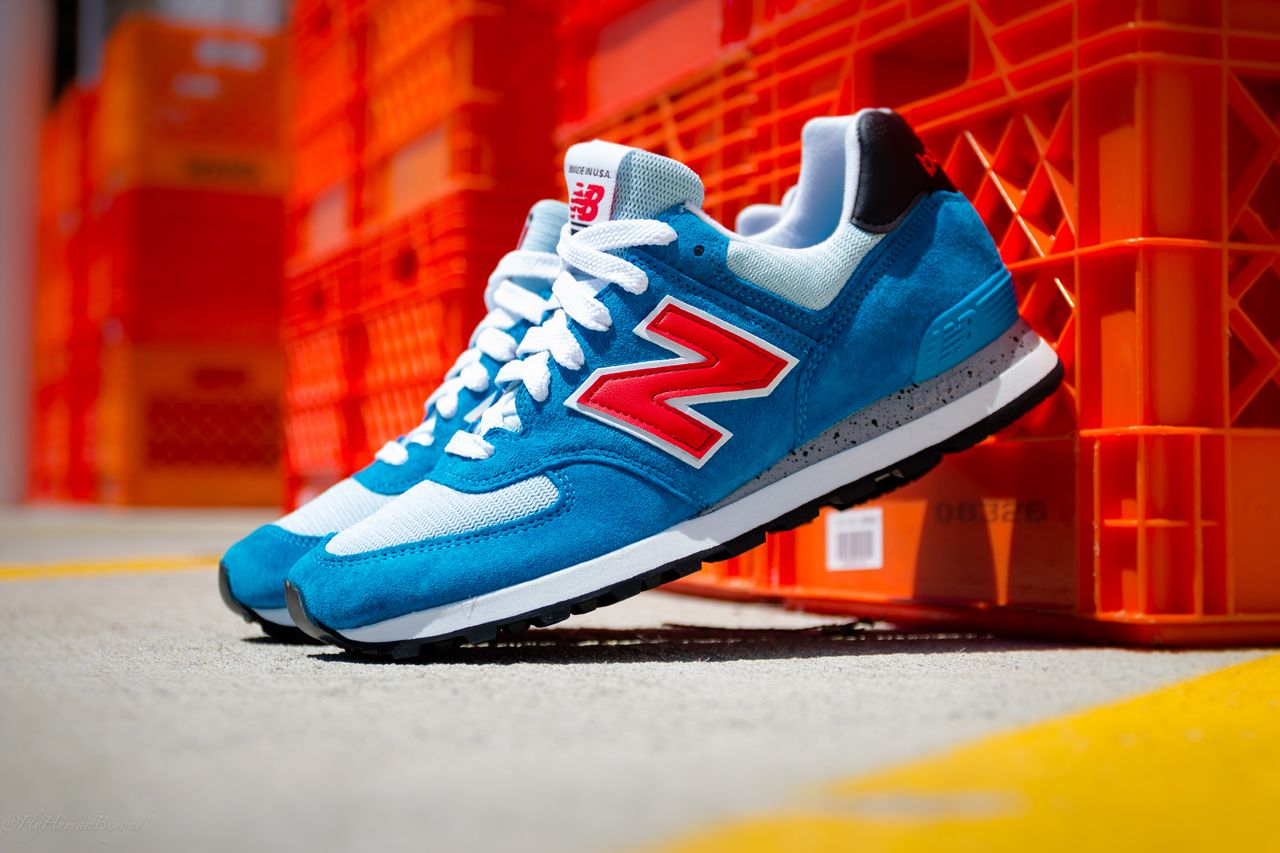 New Balance Made in USA 574 BlueRed 'National Parks