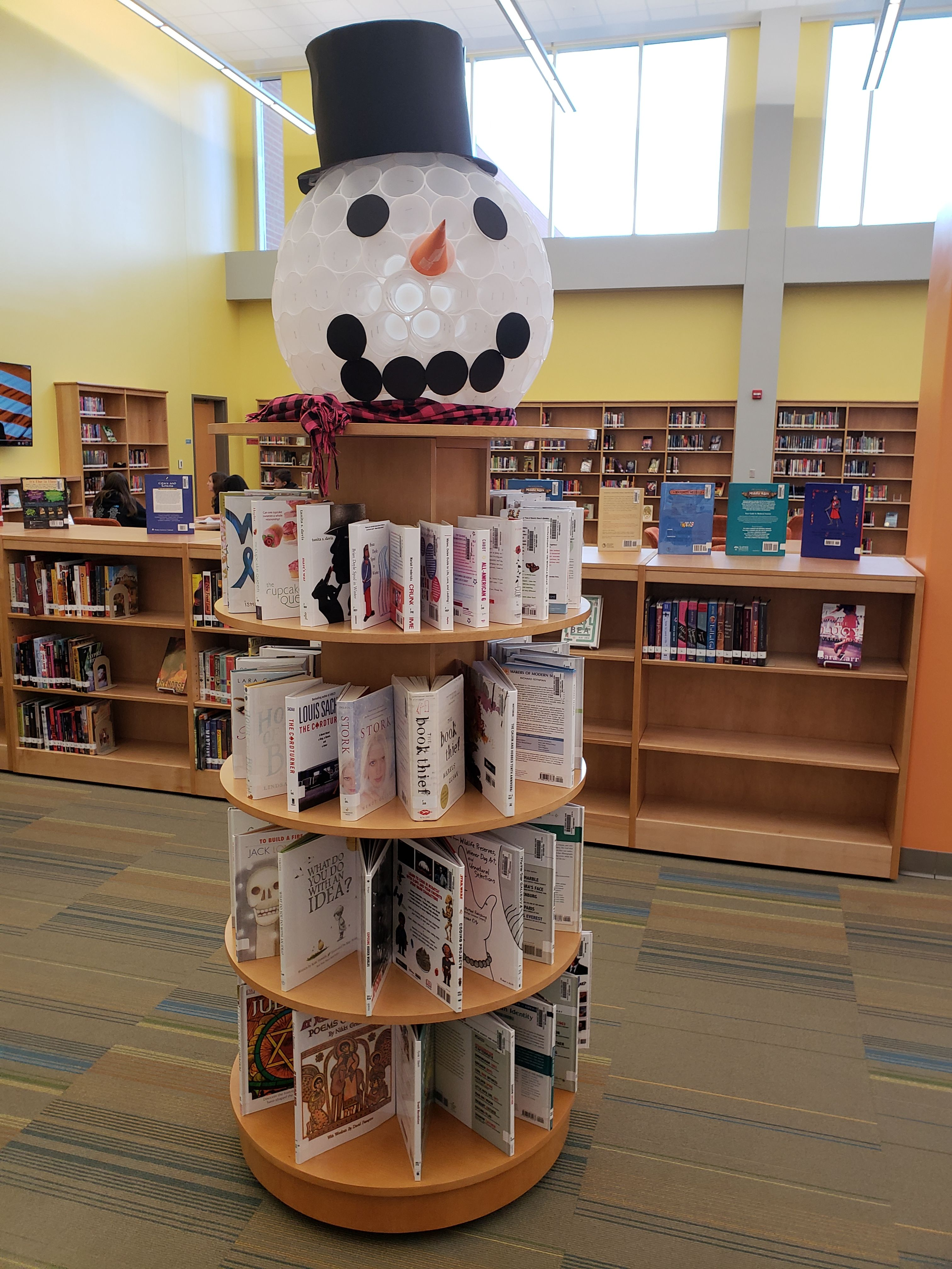 I Created This Snowman Display At The Request Of My Middle