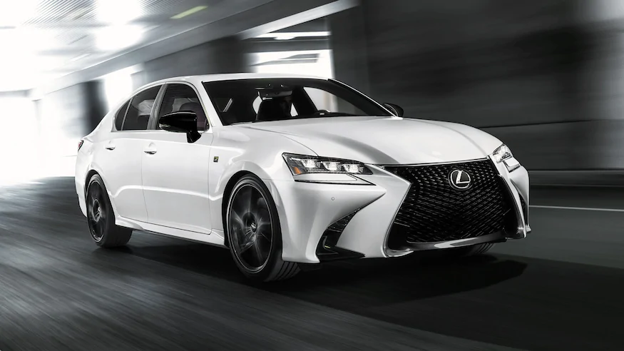 The Lexus Gs350 Goes Dark With New Black Line Special Edition Lexus Product Launch Sports Models