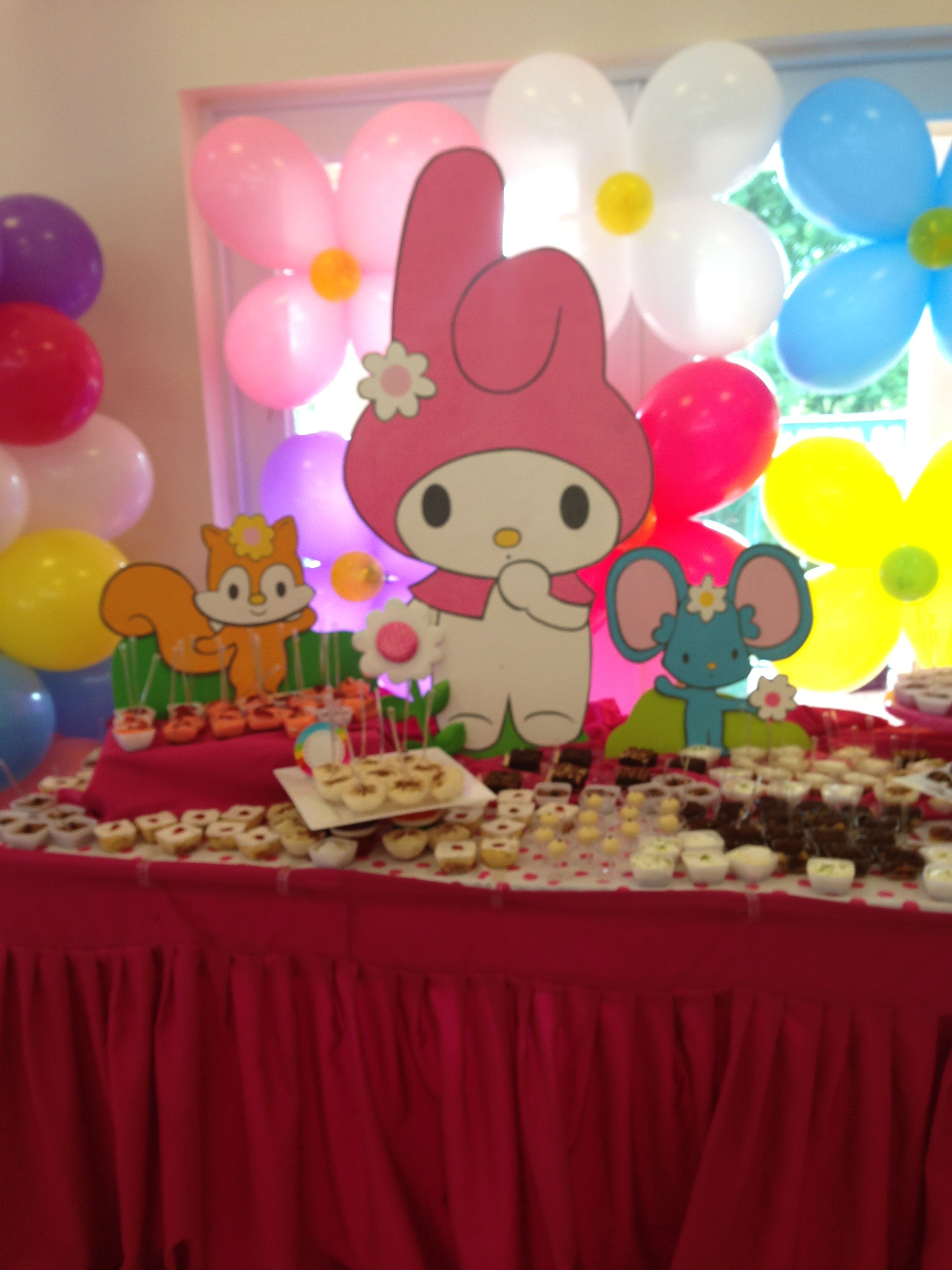 My Melody Sanrio Characters Ideas Para Fiestas 4th Birthday Parties