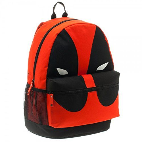 5f8a969ebb4a awesome School Bag Backpack Deadpool Mask Face Helmet Costume -