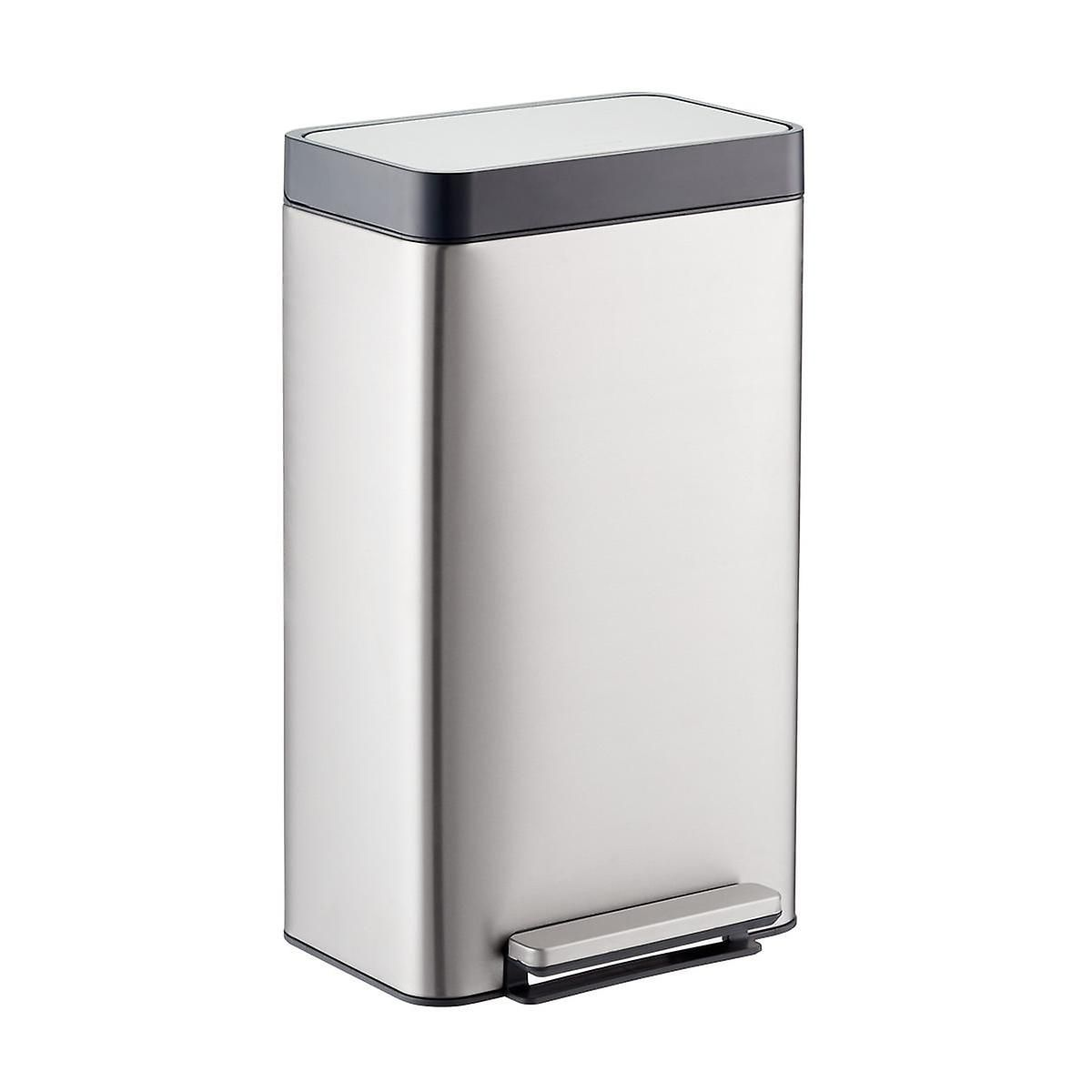 Kohler Stainless Steel 8 Gal Loft Step Trash Can With Images