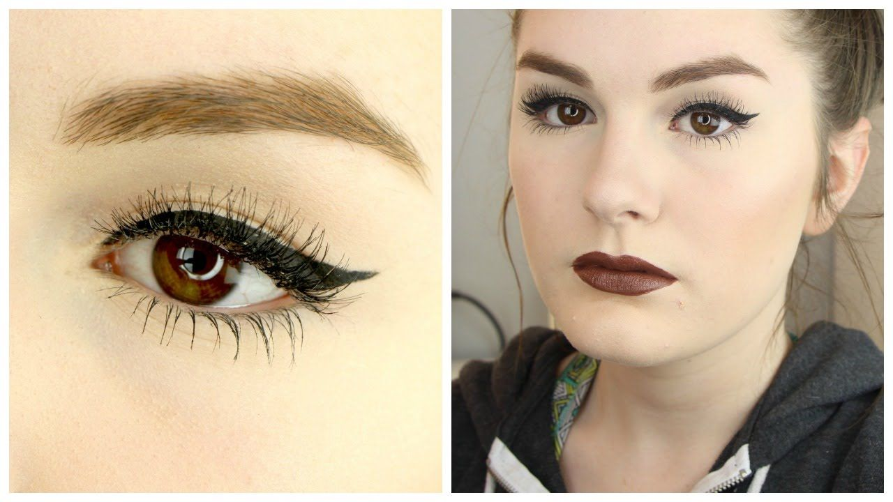 Winged Liner For Hooded Eyes How To Video Makeup Hooded Eyes