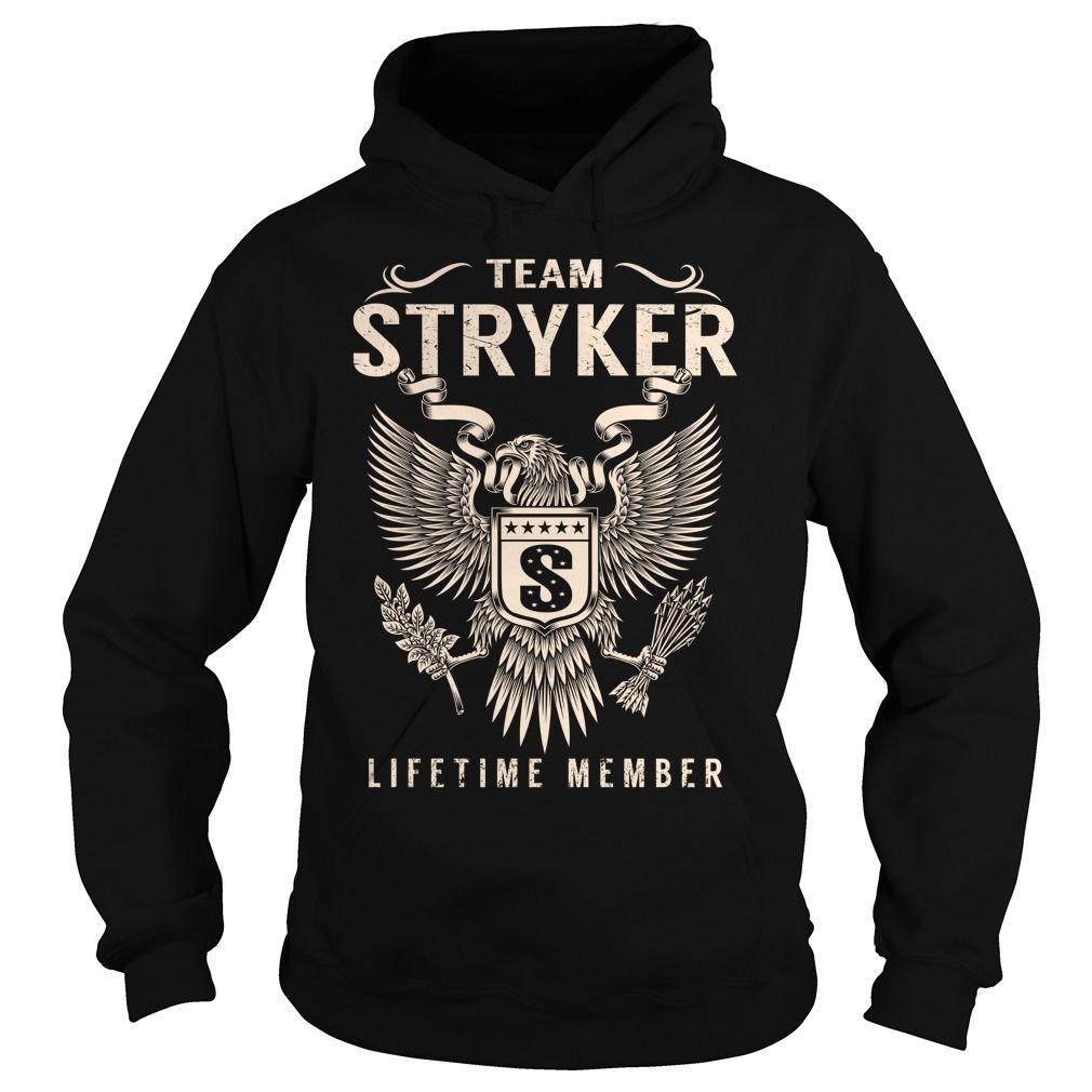 Team STRYKER Lifetime Member - Last Name, Surname T-Shirt