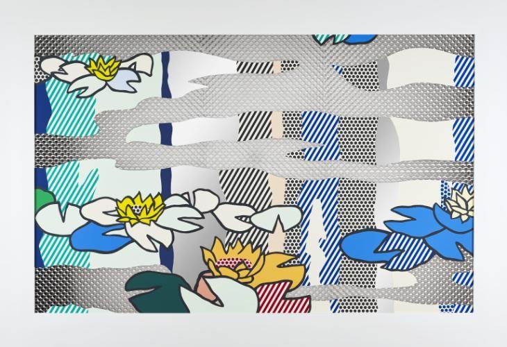Roy Lichtenstein 'Water Lily Pond with Reflections', 1992 © Estate of Roy Lichtenstein/DACS 2016