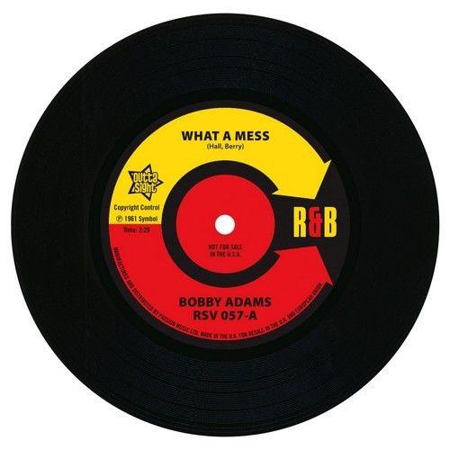 "Bobby Adams - What A Mess / Otis Rush 7"" Vinyl"