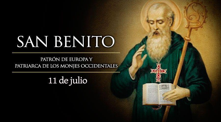 Hoy celebramos a San Benito, patrono de Europa y Patriarca de los ...