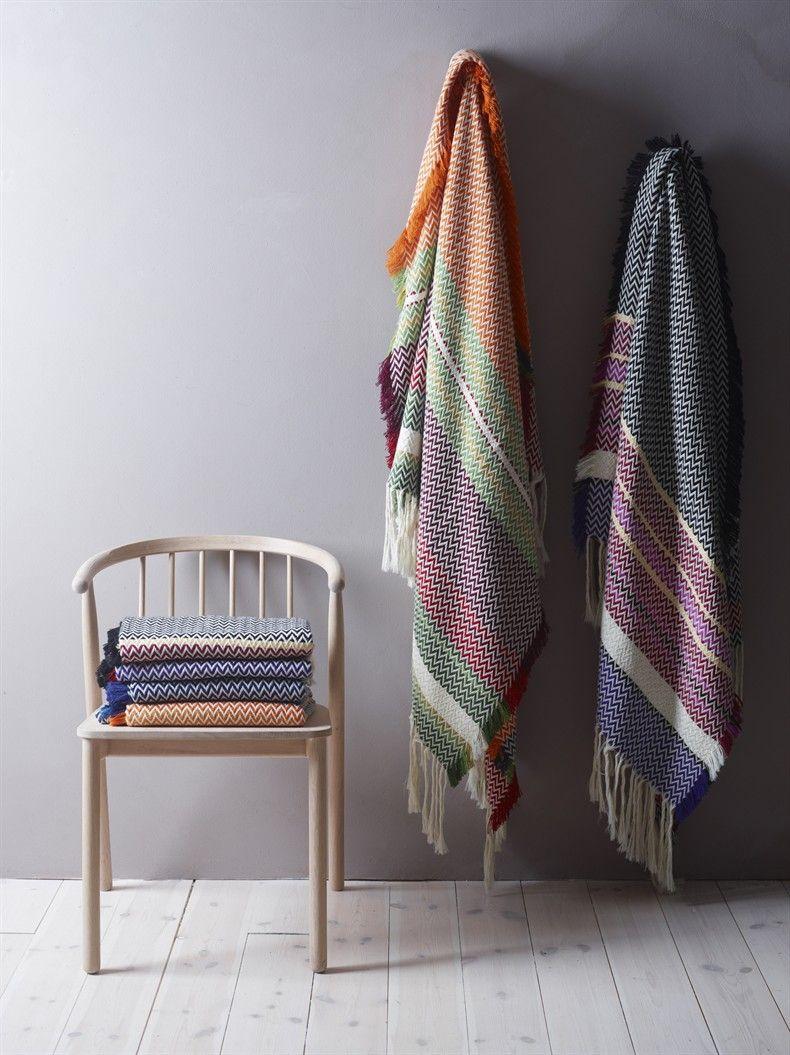Blankets by Mandal veveri, design Andreas Engesvik