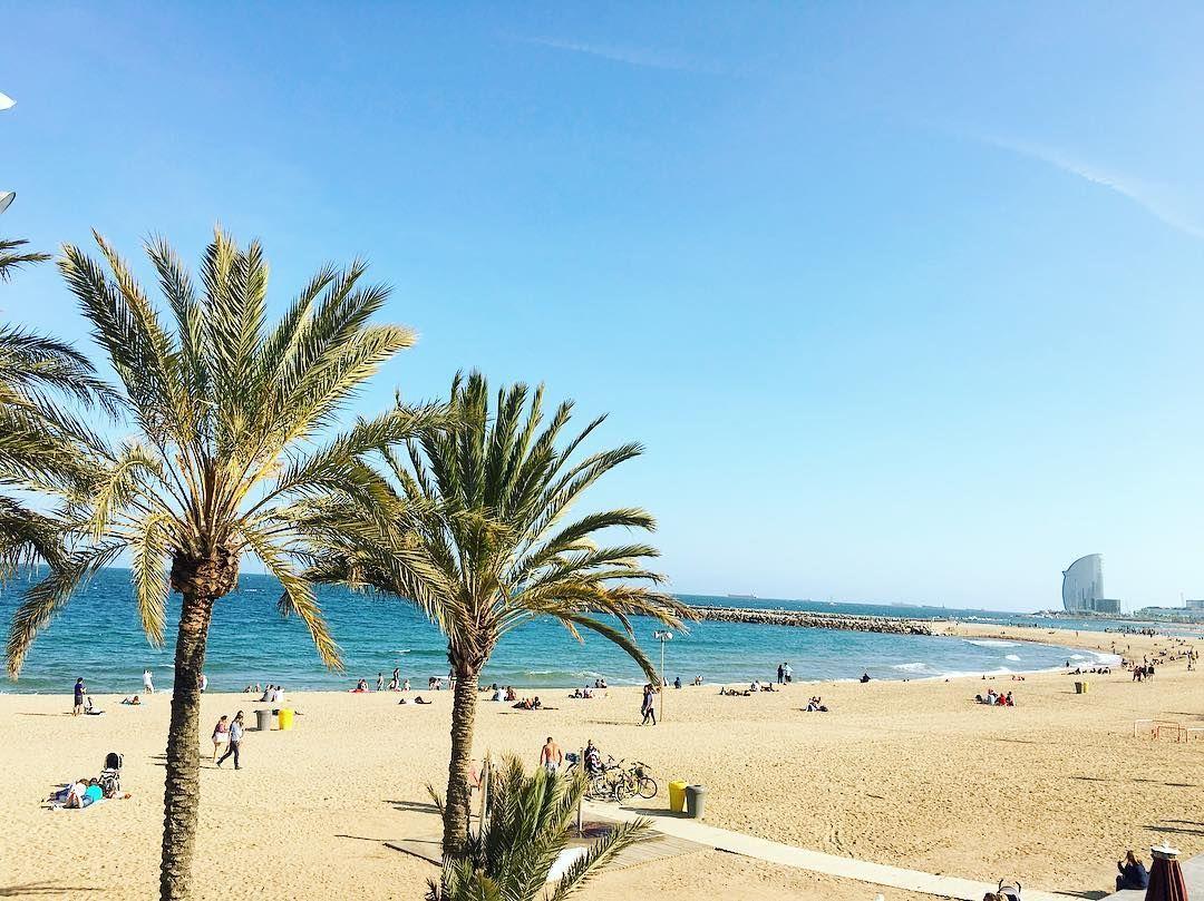 Platja De La Nova Mar Bella Barcelona Beach