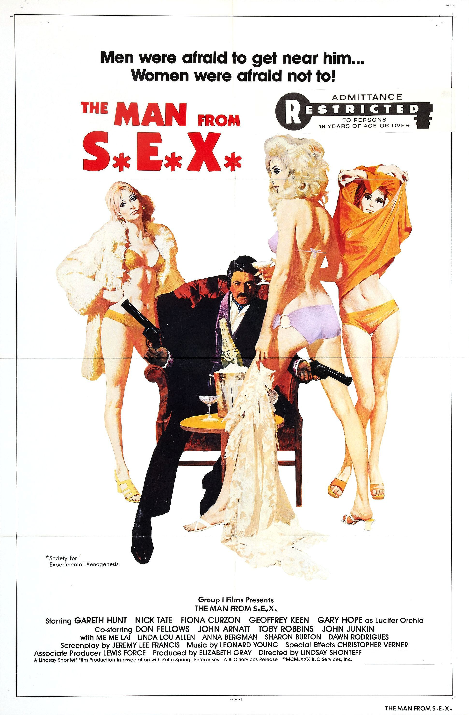 The Man From S E X 1979 Movie Posters Robert Mcginnis Movie