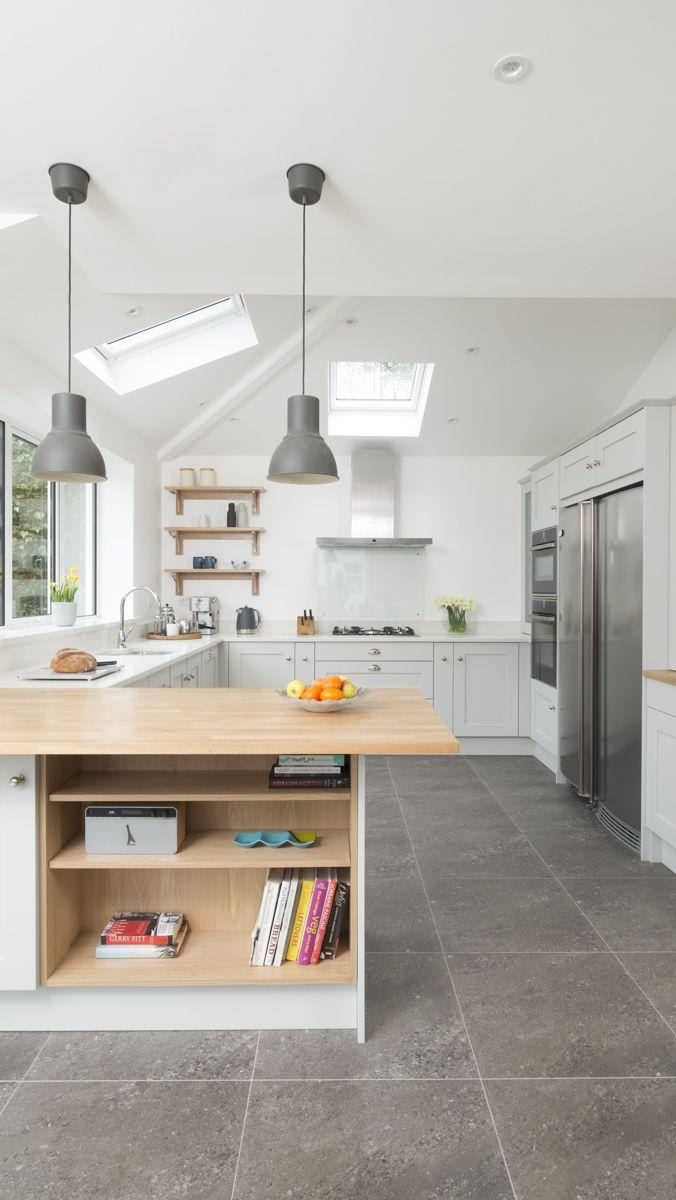 Chalkhouse Grey Shaker kitchen | kitchen space | Pinterest | Grey ...