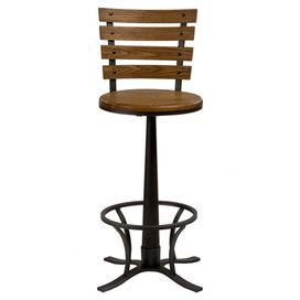 Product Barstoolconstruction Material Light Oak And Graycolor Wood And Metalfeatures Constructed Swivel Counter Stools Wood Bar Stools Swivel Bar Stools