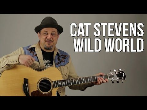Cat Stevens Guitar Lesson - Peace Train - How to Play On Acoustic ...