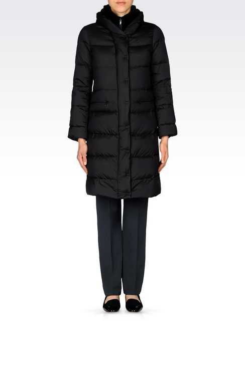womens armani coat