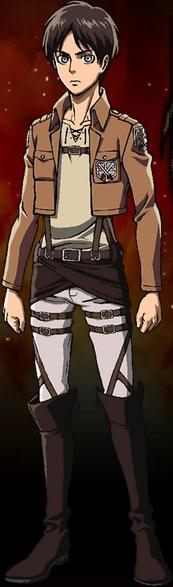 Military Levi Ackerman Anime Characters Eren Jaeger
