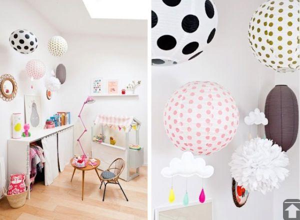 Lampions Kinderzimmer ~ 35 besten pompoms & lampions bilder auf pinterest basteln und