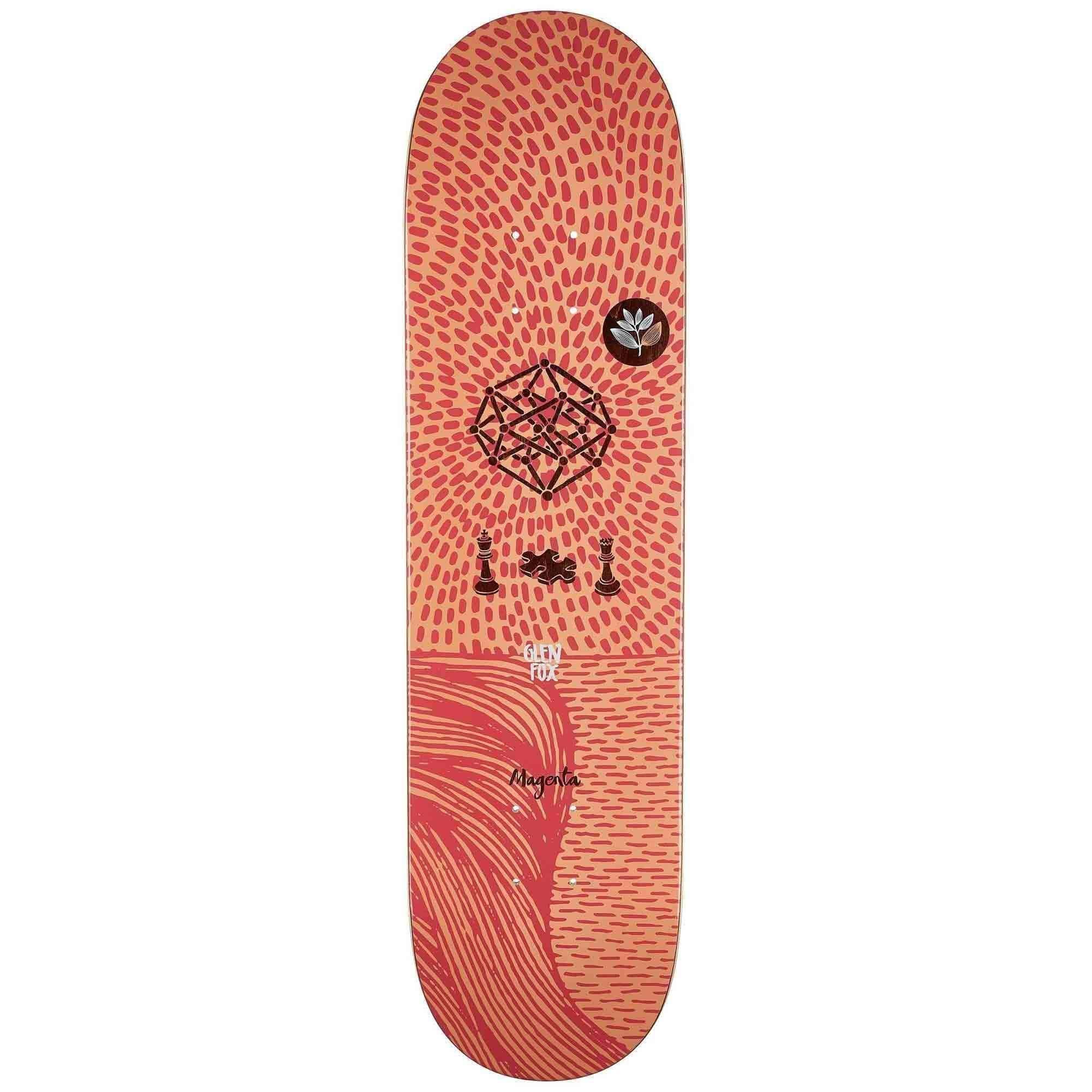 Magenta Dream Series Fox 8 5 Magenta Gold Vans Skateboard Hardware