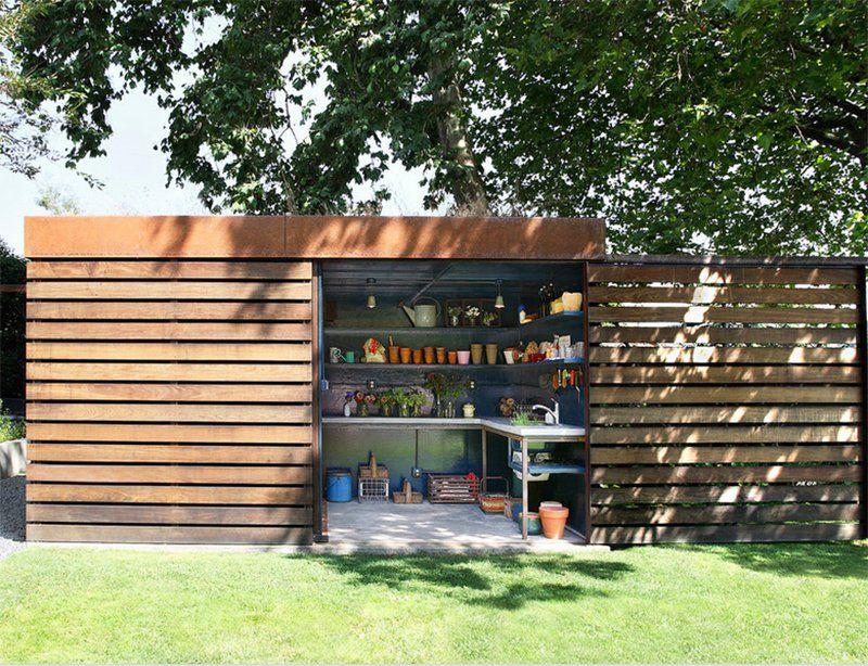 23 impressive contemporary garden shed designs garden
