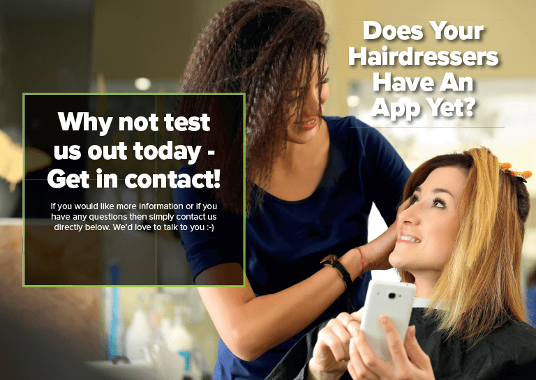 Hair Salon Mobile App How will it help me? Salons