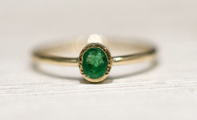 Smaragd Verlobungsring Grun Edelstein Gemstone Engagement Ring