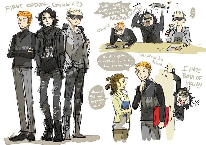 Star Wars High School Comic - This makes me unreasonably happy