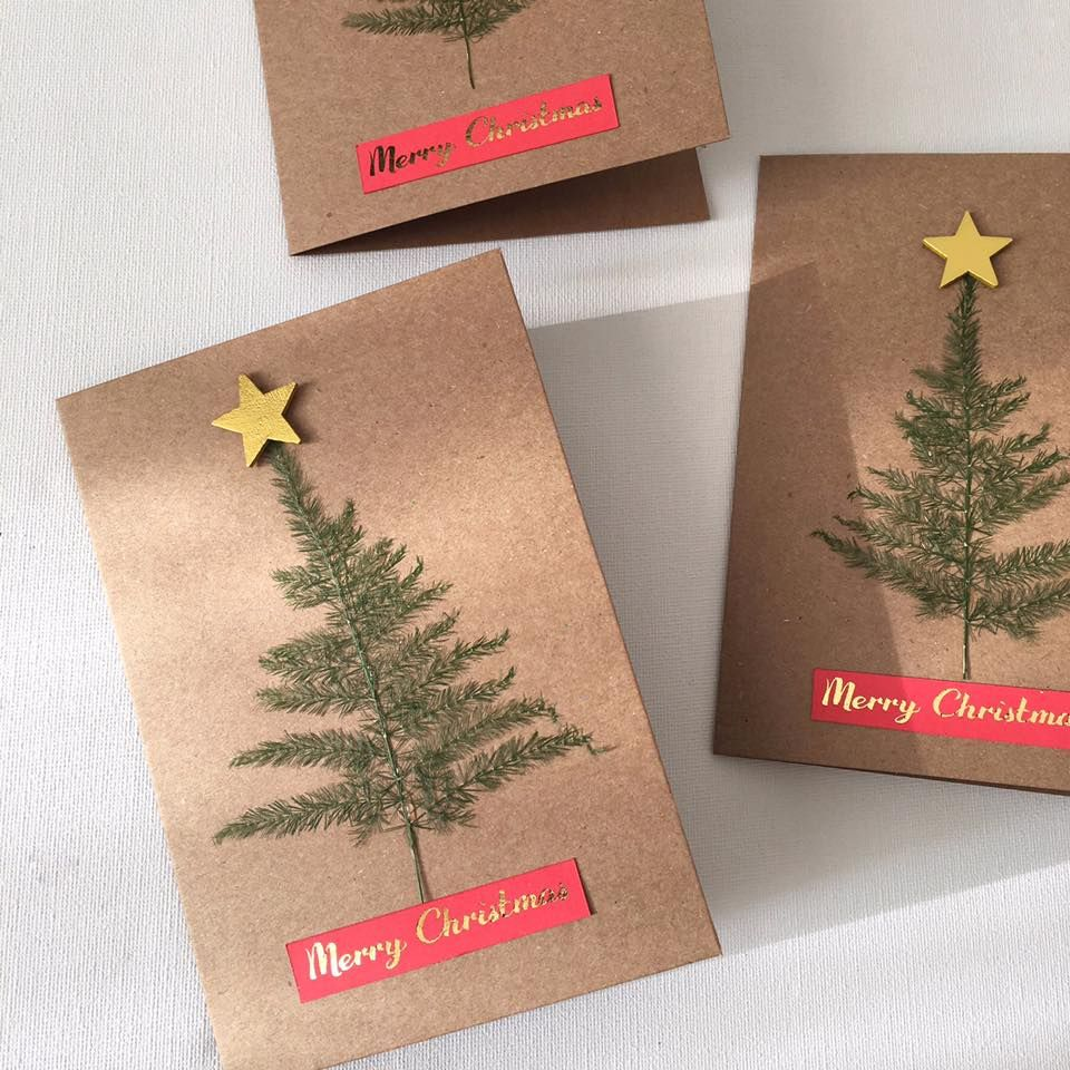How To Make A Foiled Christmas Card Papercraft Card Ideas And Blog