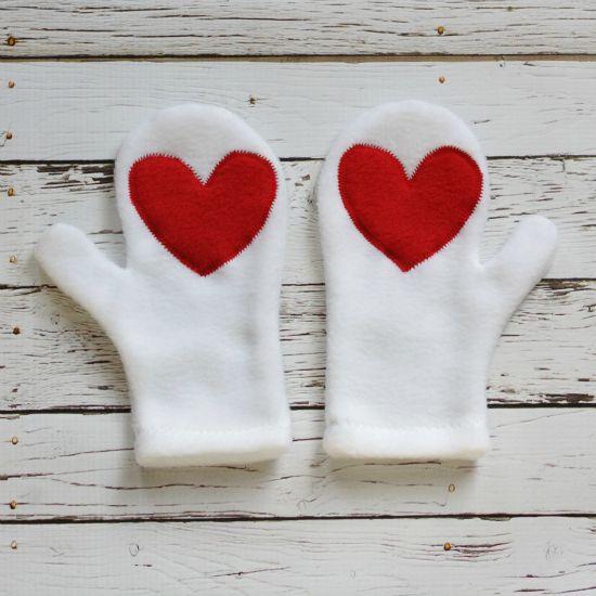 Hearts Appliqué Mittens Tutorial   Mittens, Tutorials and Mittens ...