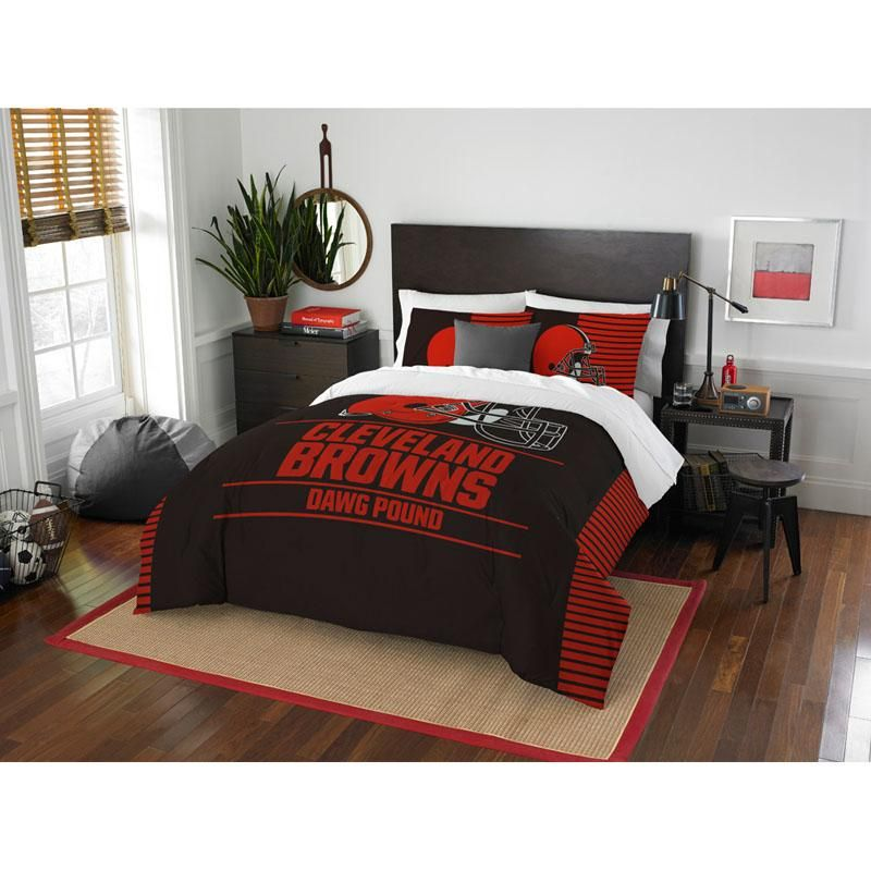 Cleveland Browns Draft Day Bedding Set in 2018 Products