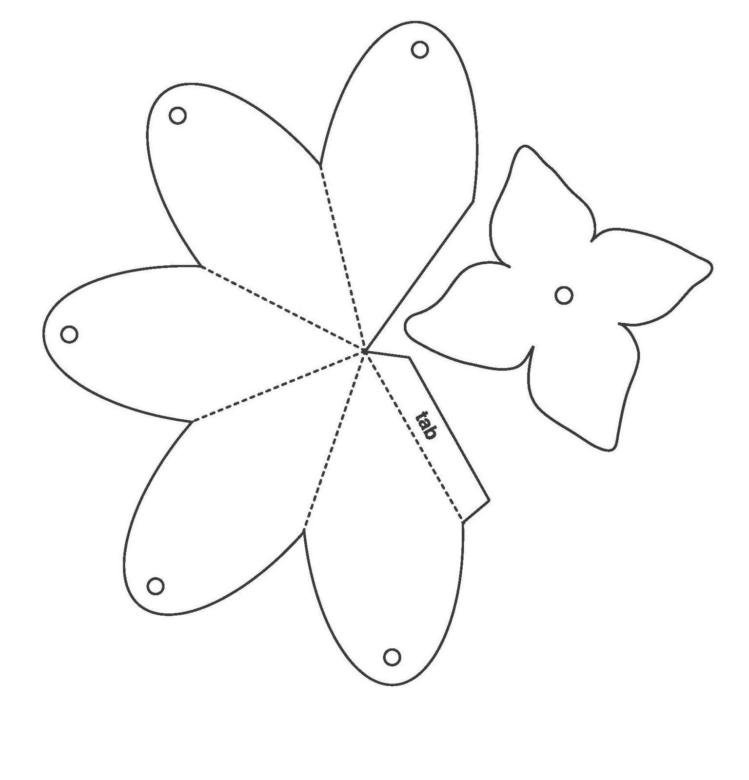 Сделать открытку, открытки в виде цветка шаблон