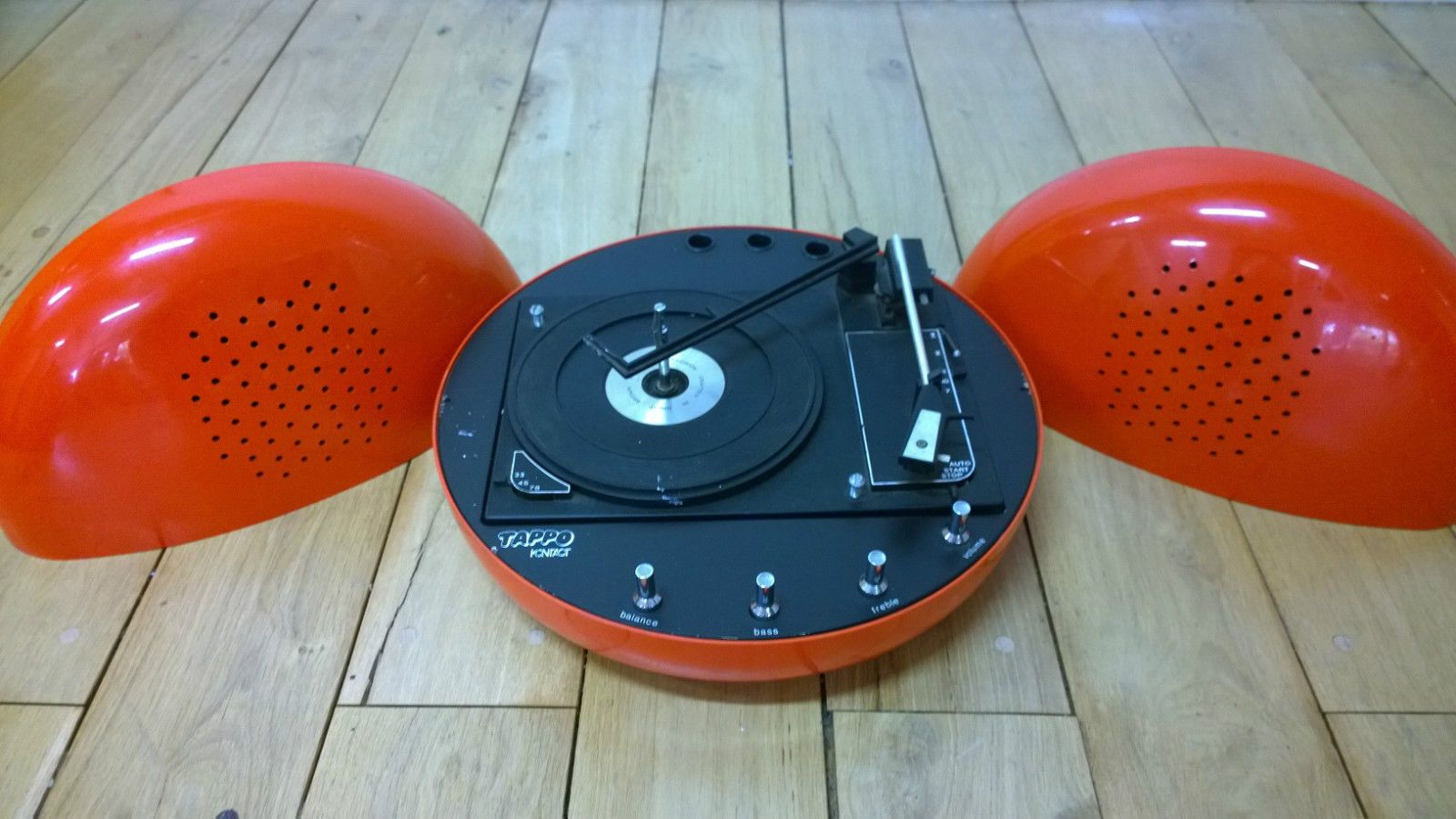 tourne disque tappo kontact annees 70 space age turntable bsr weltron brionvega 60 39 s 70 39 s. Black Bedroom Furniture Sets. Home Design Ideas